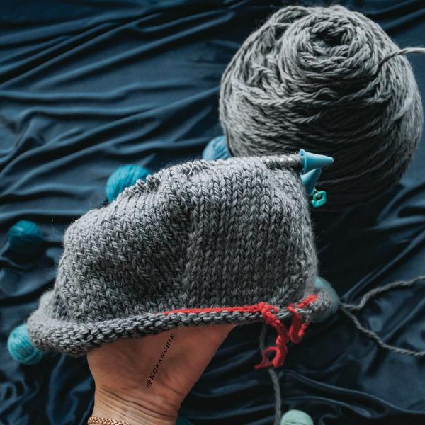 Как рассчитать плотность вязания спицами?