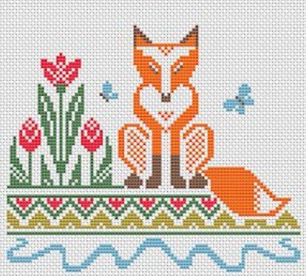 Такие милые лисички: вяжем, шьем,вышиваем