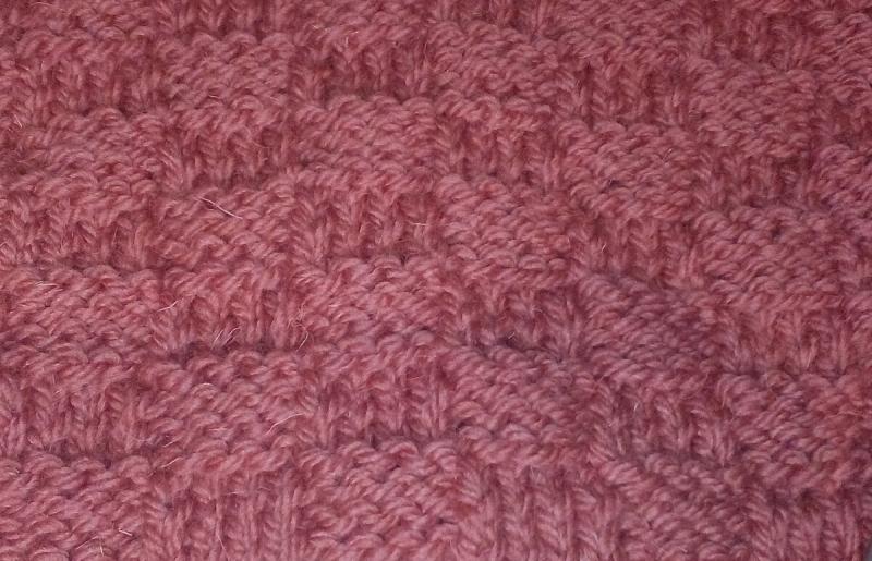 Вязание на спицах для начинающих. Урок № 4: узор шахматка