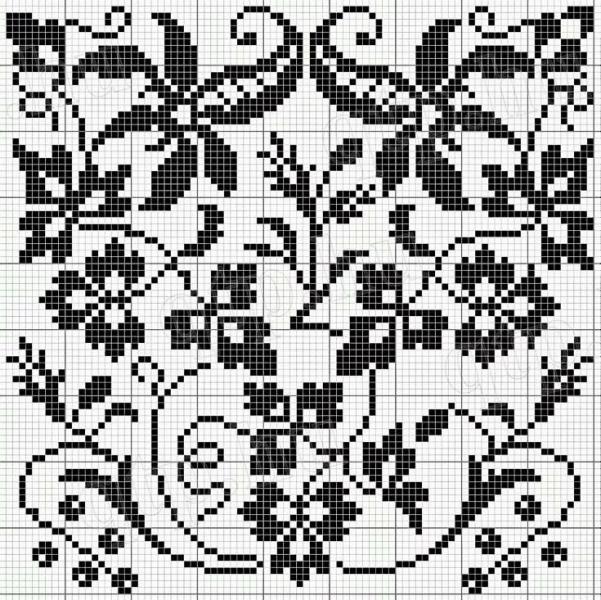 Чудо-крючок: шедевры филейного вязания