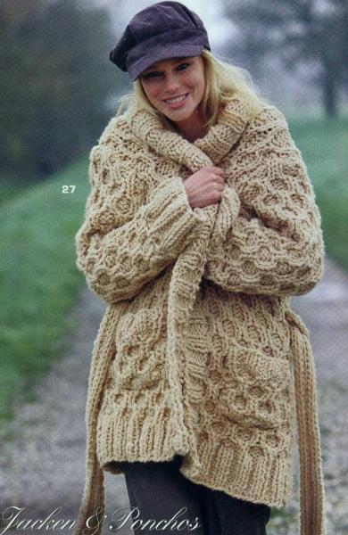 """Модное вязание. Почему мы так любим стиль """"оверсайз""""."""