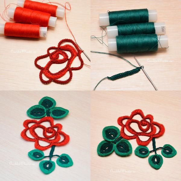 Всё о вязании из швейных ниток