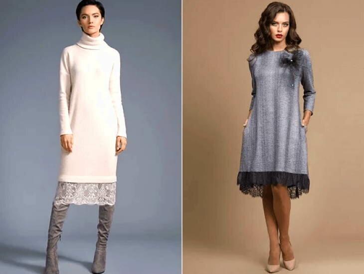 Простая переделка: удлиняем платье и делаем его модным