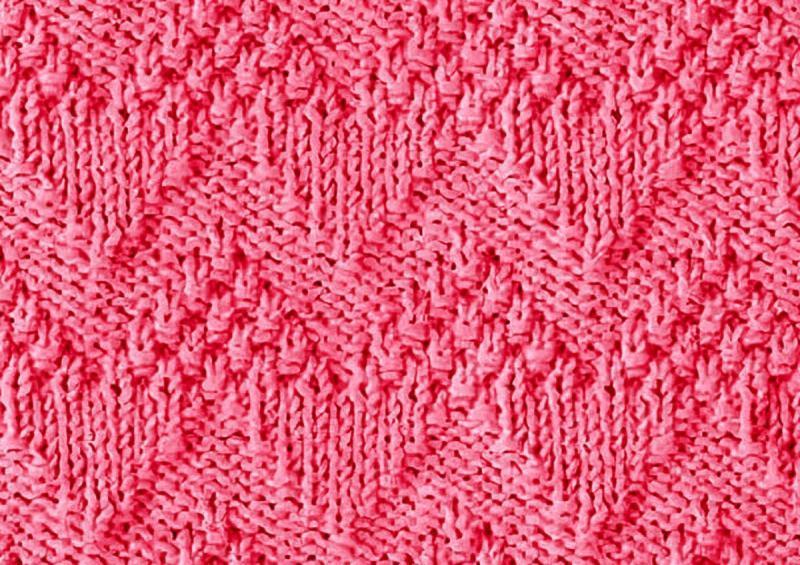Вяжем зигзаги: 12 простых схем спицами